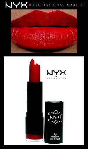 Batons NYX - Cor ELECTRA - Delineando  Batons NYX - Co...